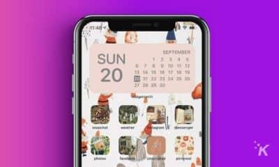 custom iphone ios 14 homescreen