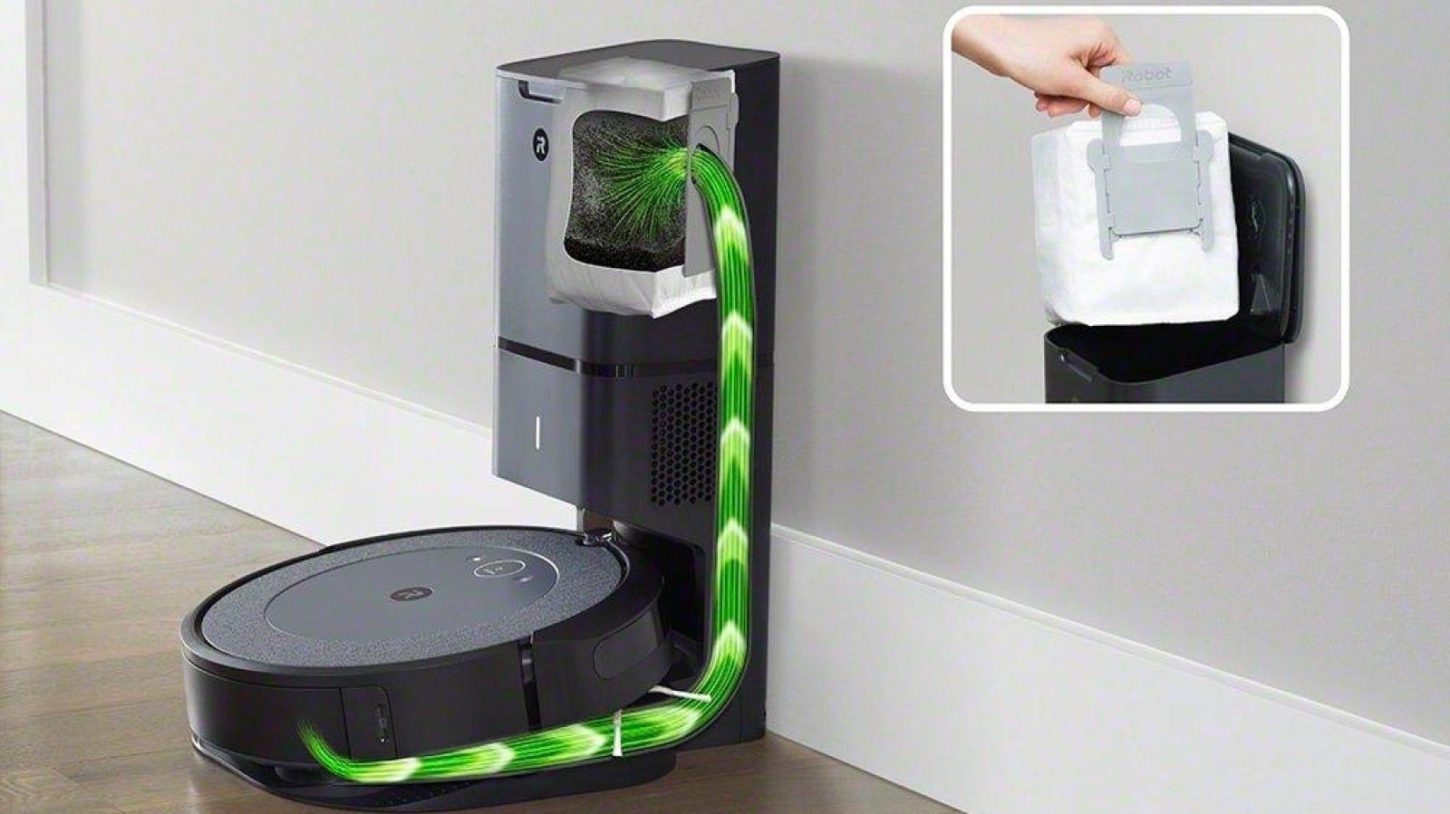 irobot roomba self-emptying robot vaccum