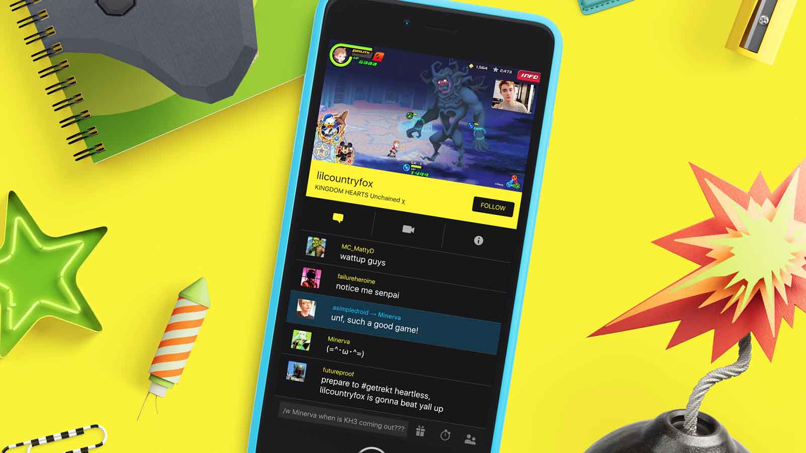 mobcrush streaming app