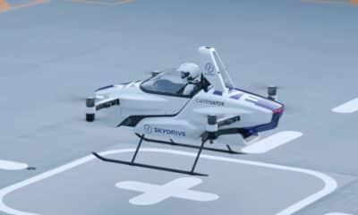 sky drive flying car
