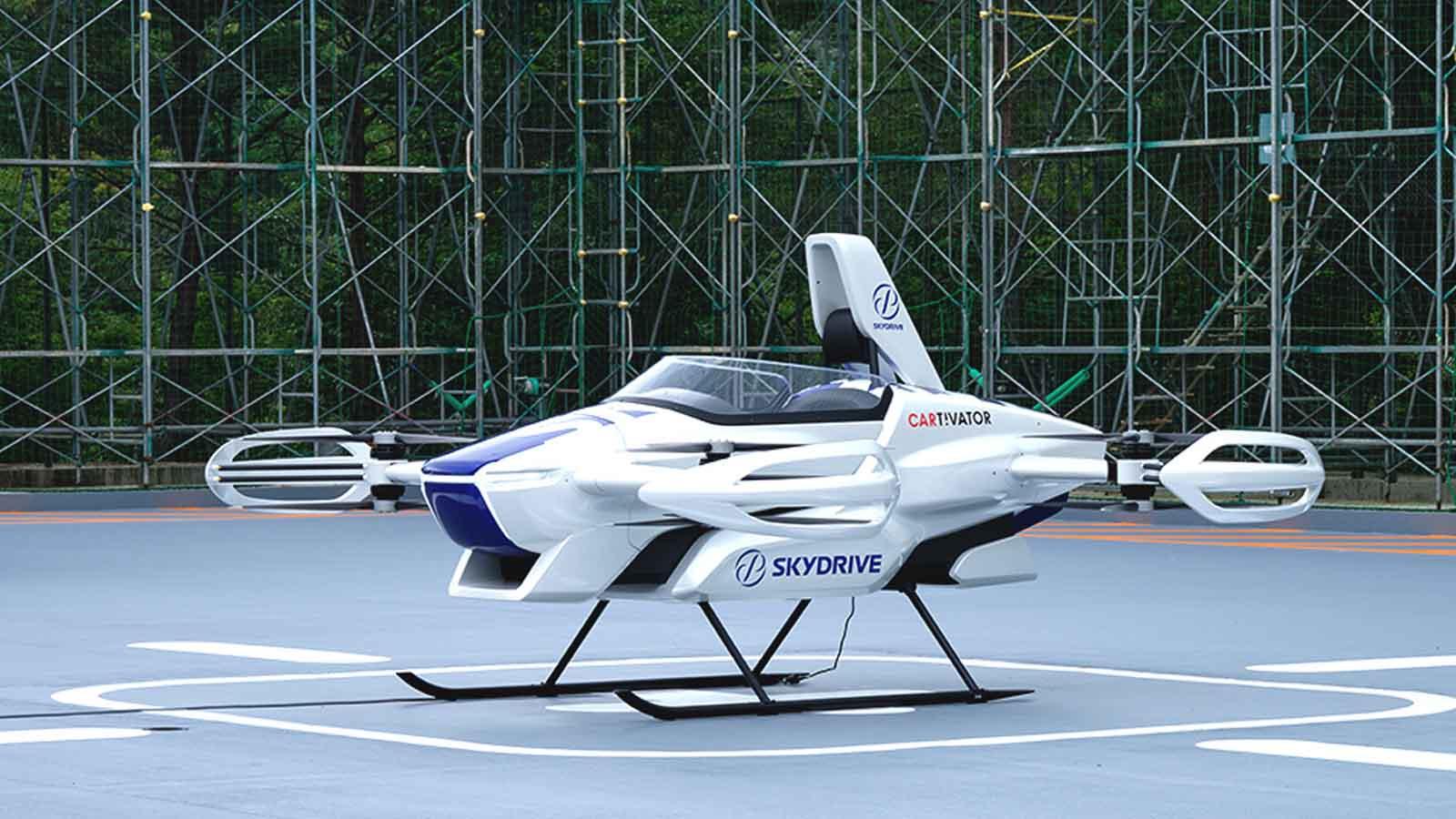 skydrive flying car