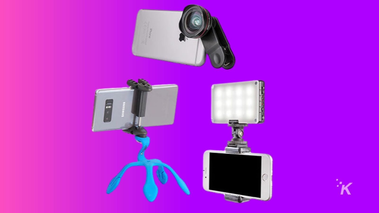video call lighting trio