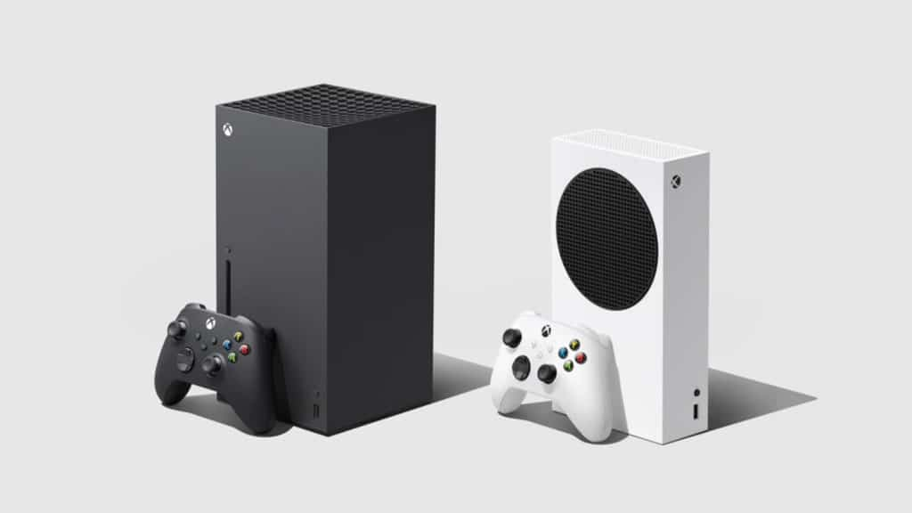 xbox series s and series s on white background