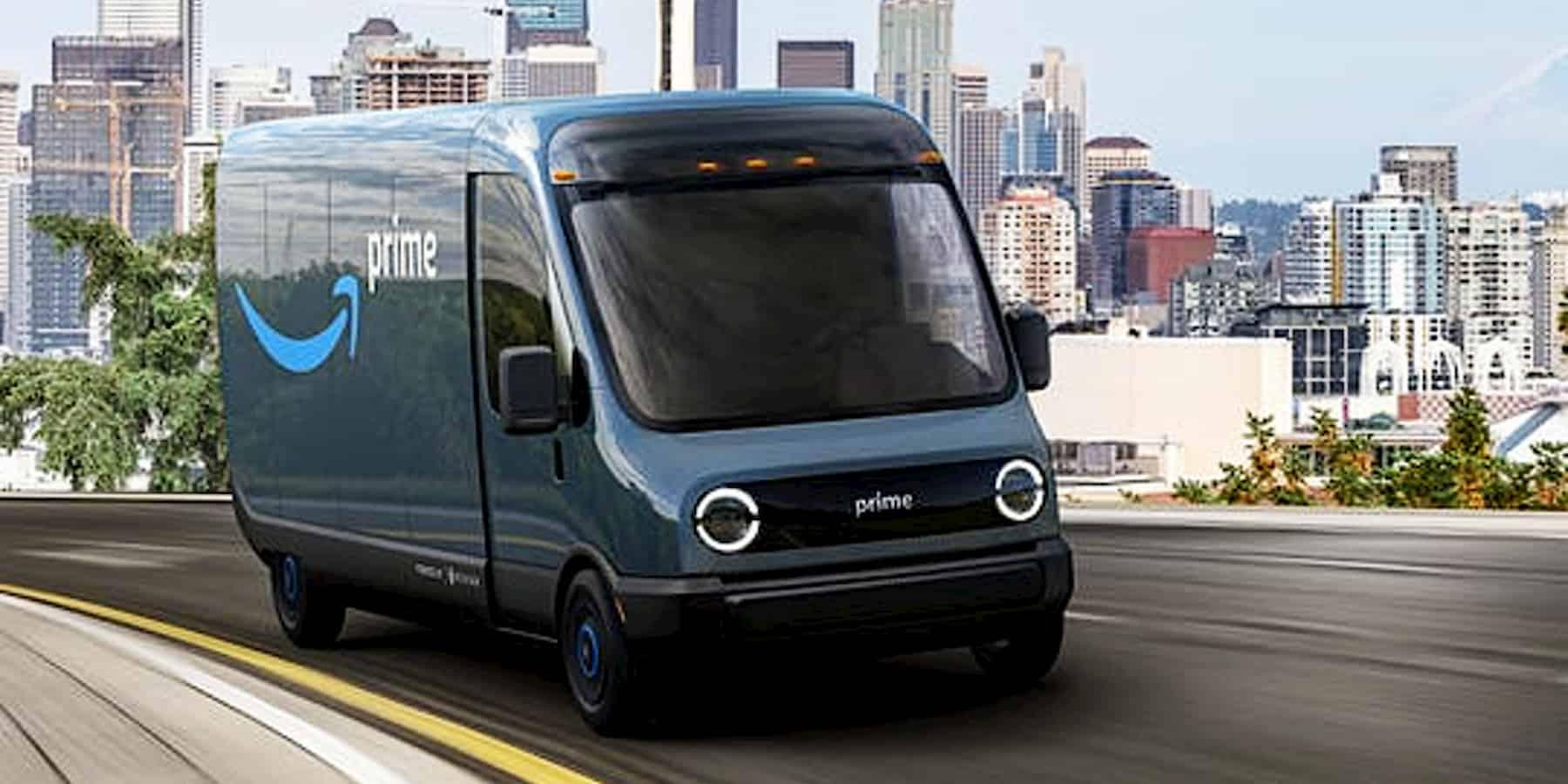 amazon electric delivery van