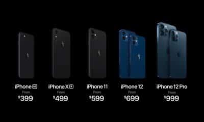 apple 2020 iphone range