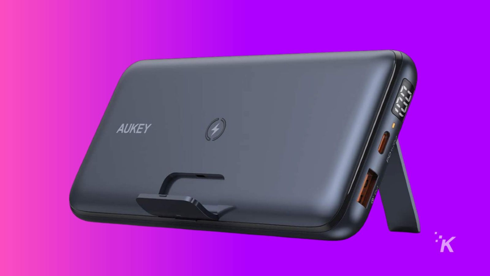 aukey wireless charger portable