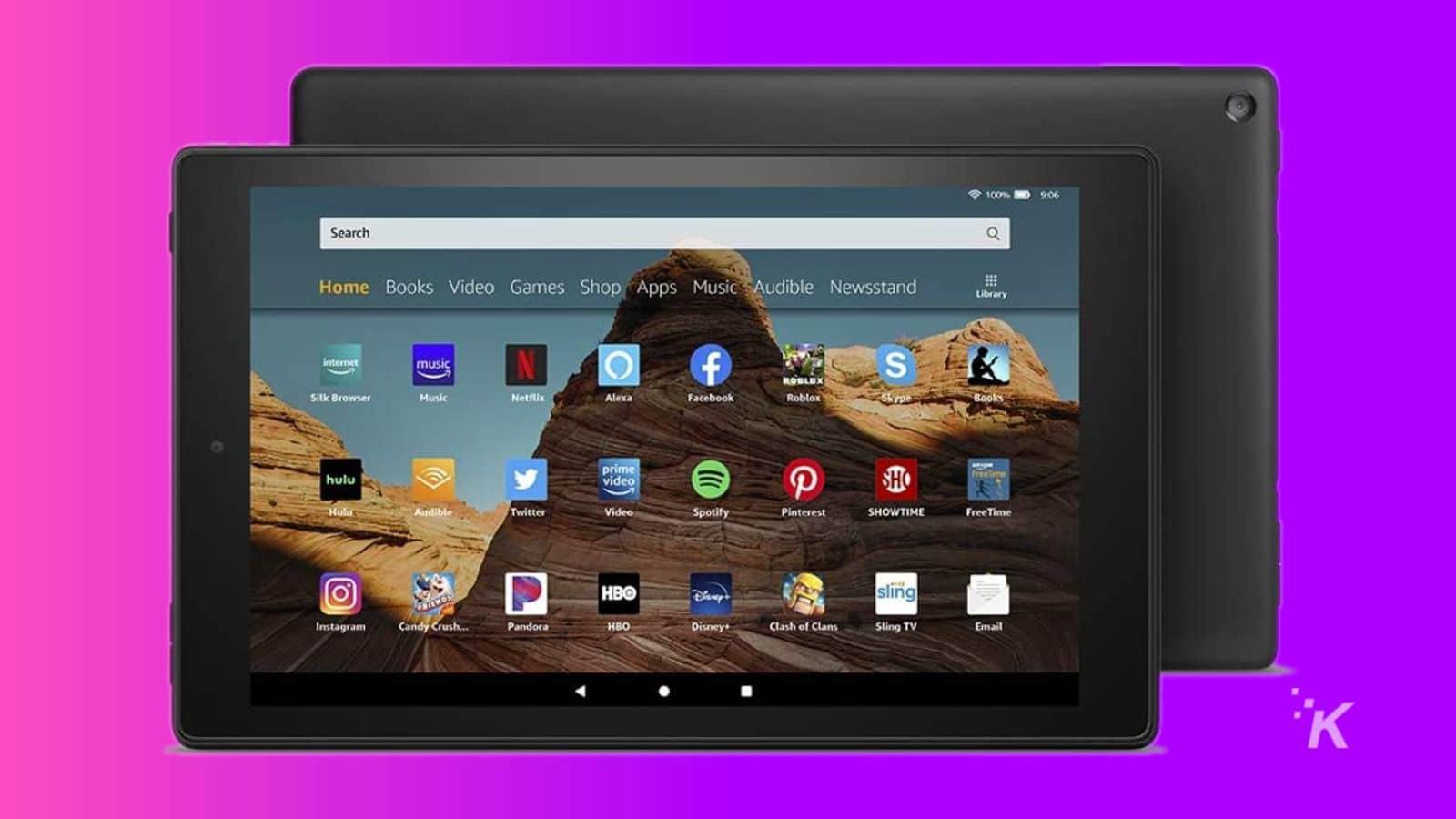 fire hd 10 tablet amazon