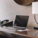 hotel room laptop wifi