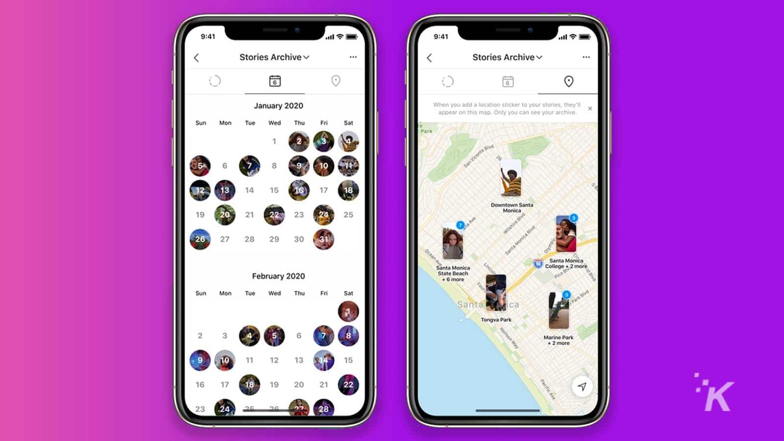 instagram stories map for 10th birthday
