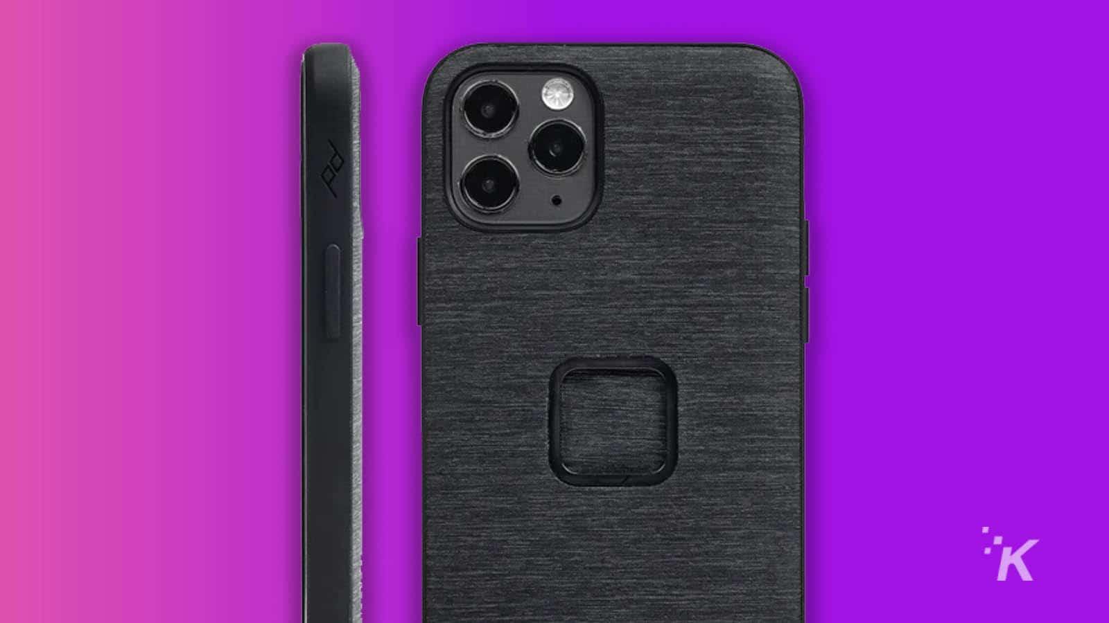 iphone 12 peak design case