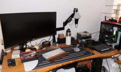 top of joes desk