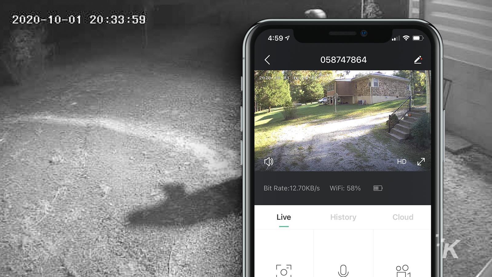 meco security camera app