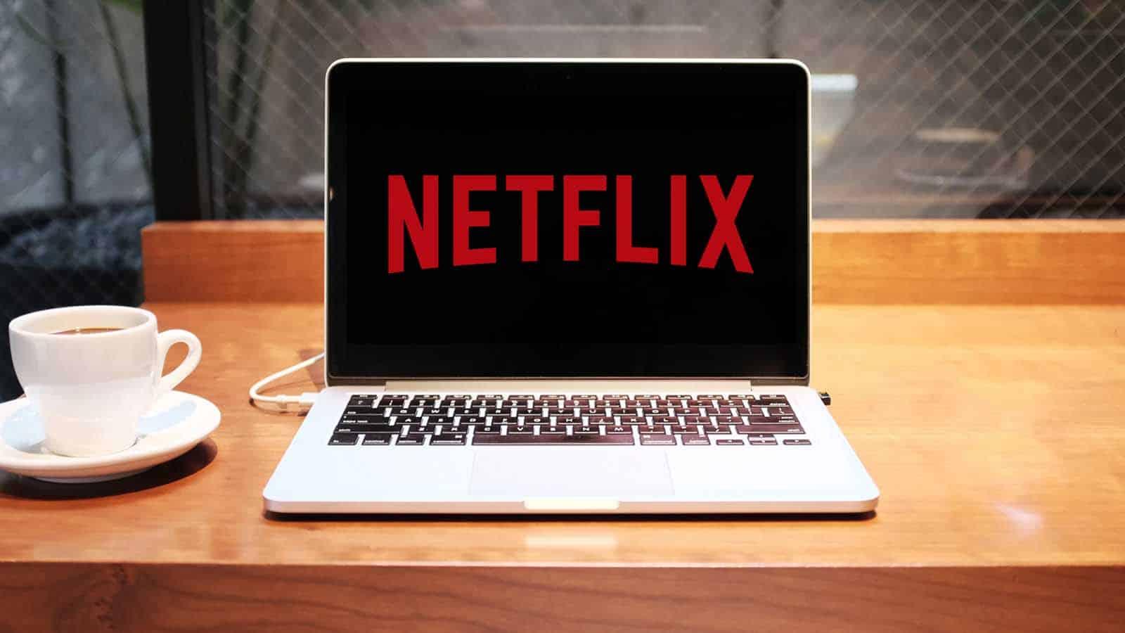 netflix on a macbook