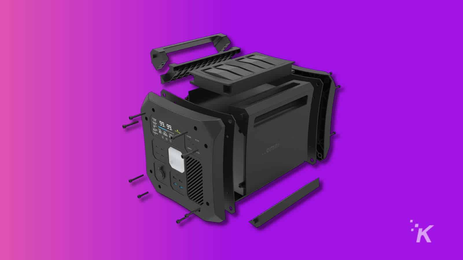 omnicharge off grid battery bank