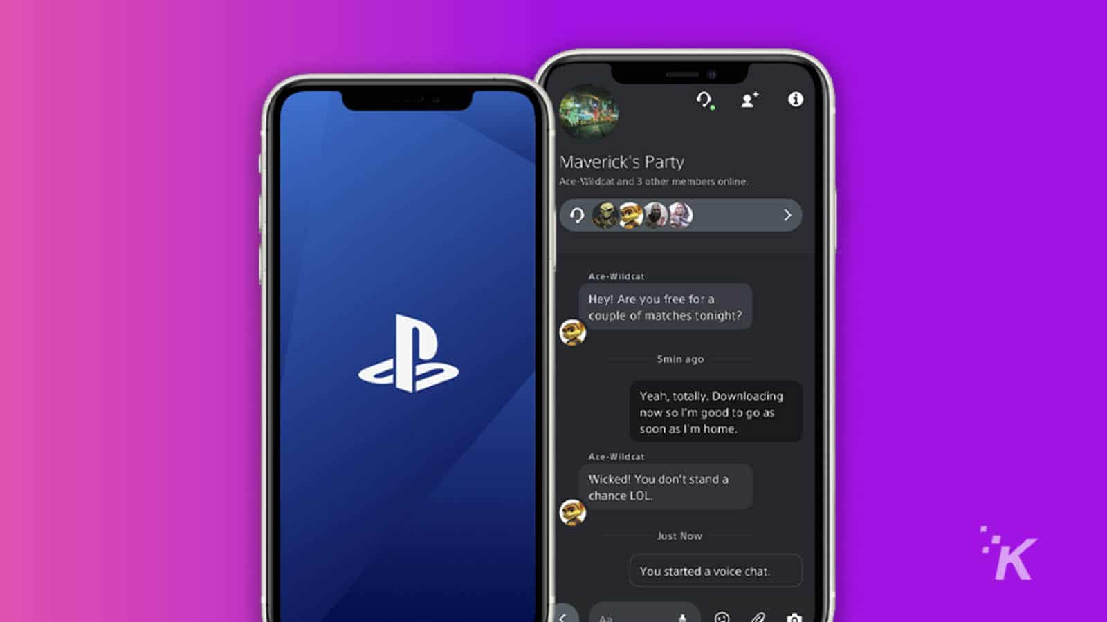 new update to playstation app