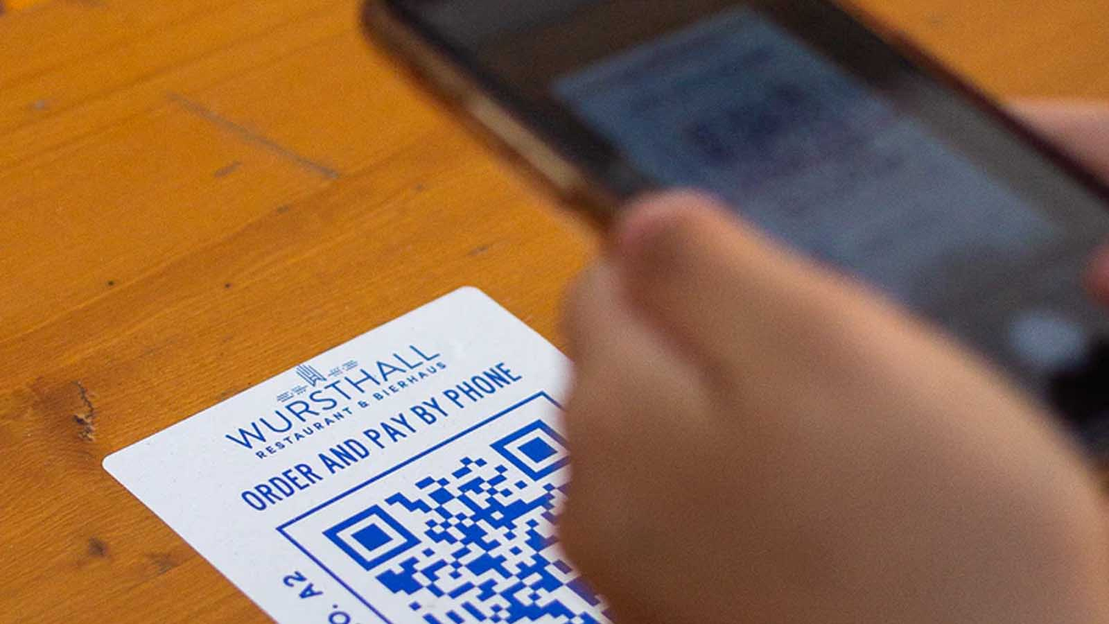 restaurant qr codes on android