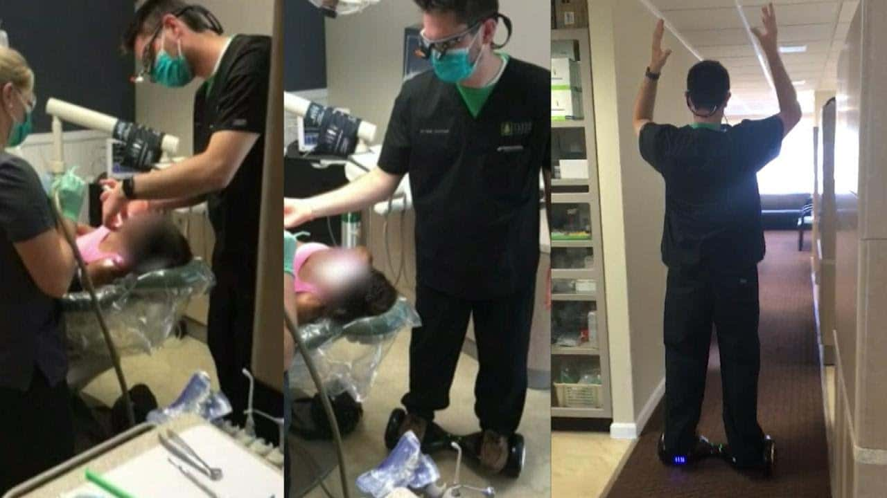 seth lookhart dentist hoverboard