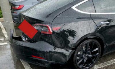 tesla model 3 rear bumper