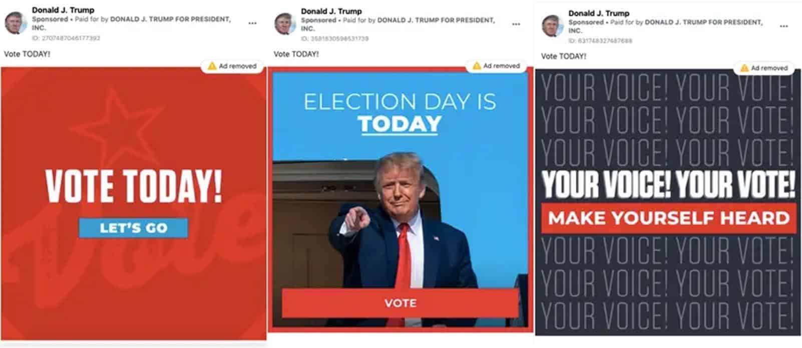trump facebook ads