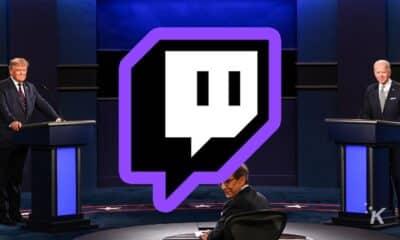 twitch presidential debates