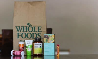 whole foods bag on table