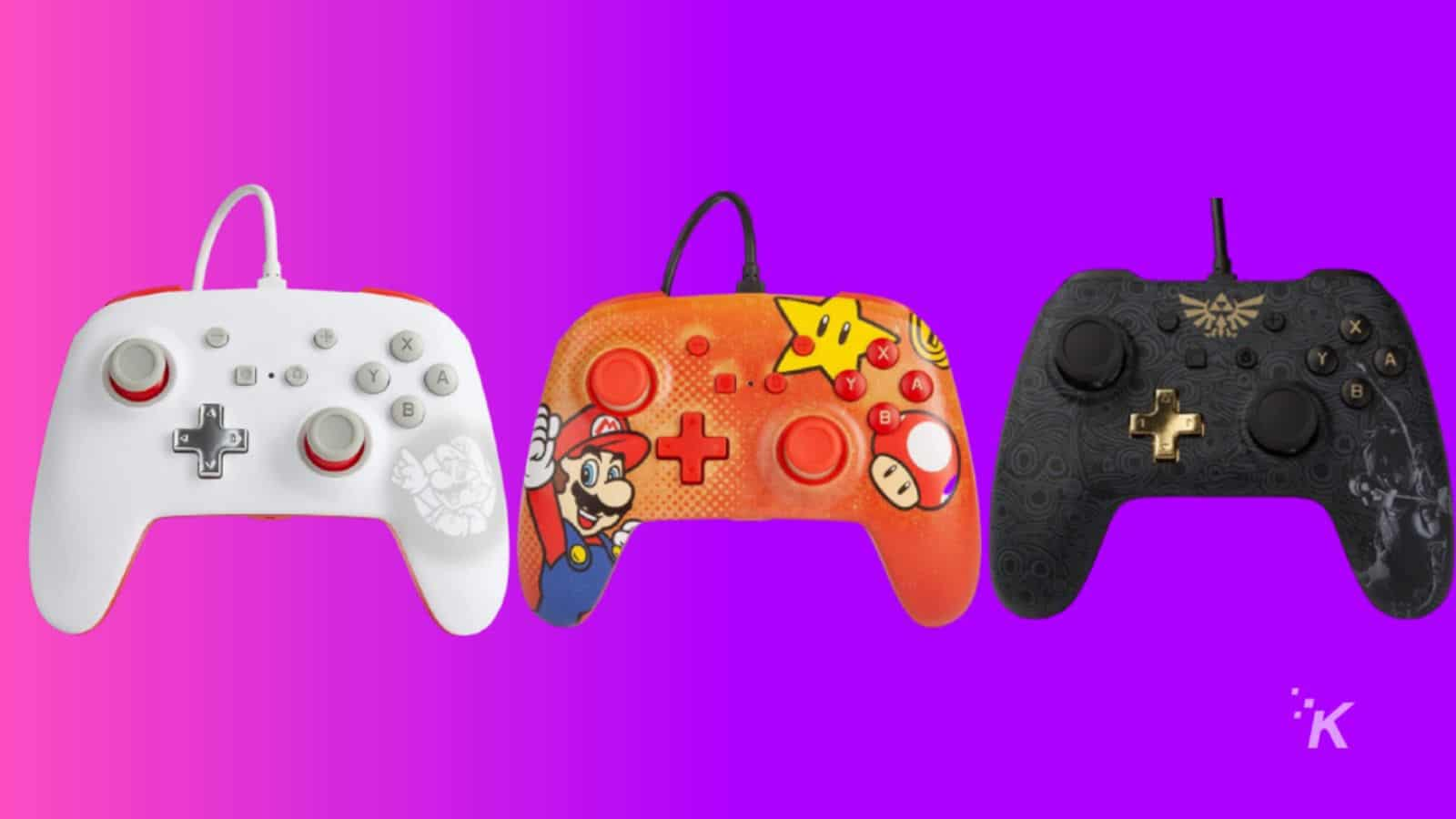 wired nintendo switch controllers