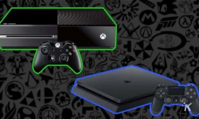 xbox one and playstation 4 consoles
