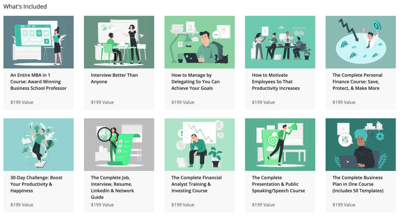 business course bundle