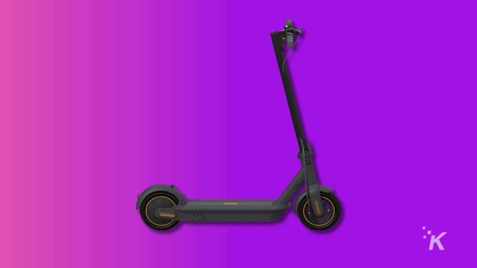 segway max scooter