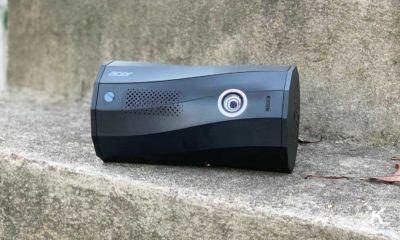 acer projector outside