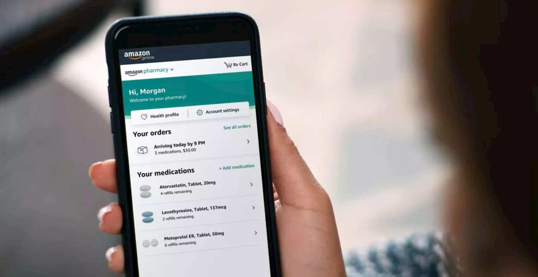 amazon pharmacy app