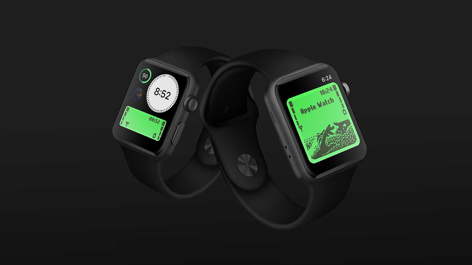 apple watch nokia screen