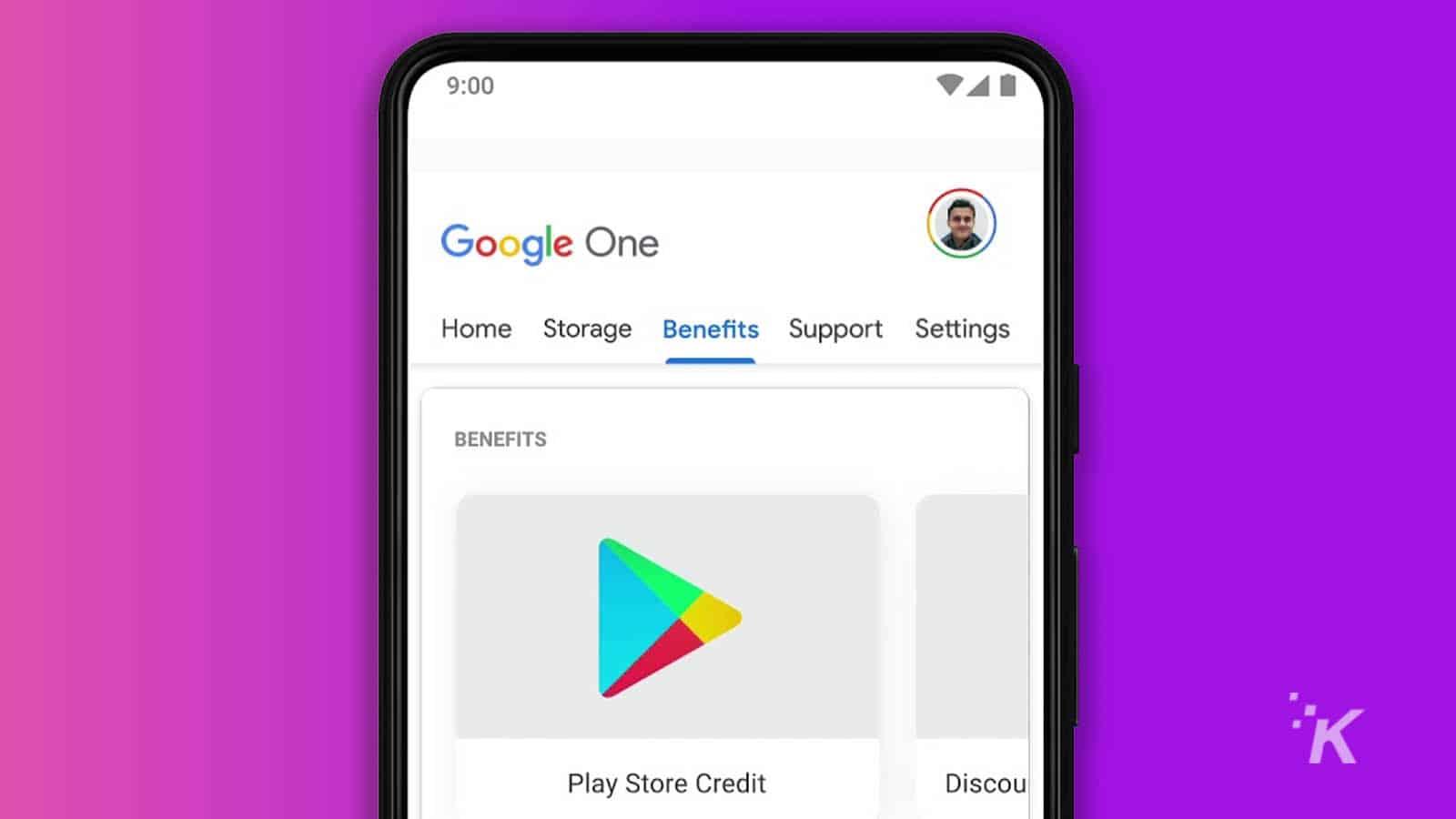 google one on smartphone