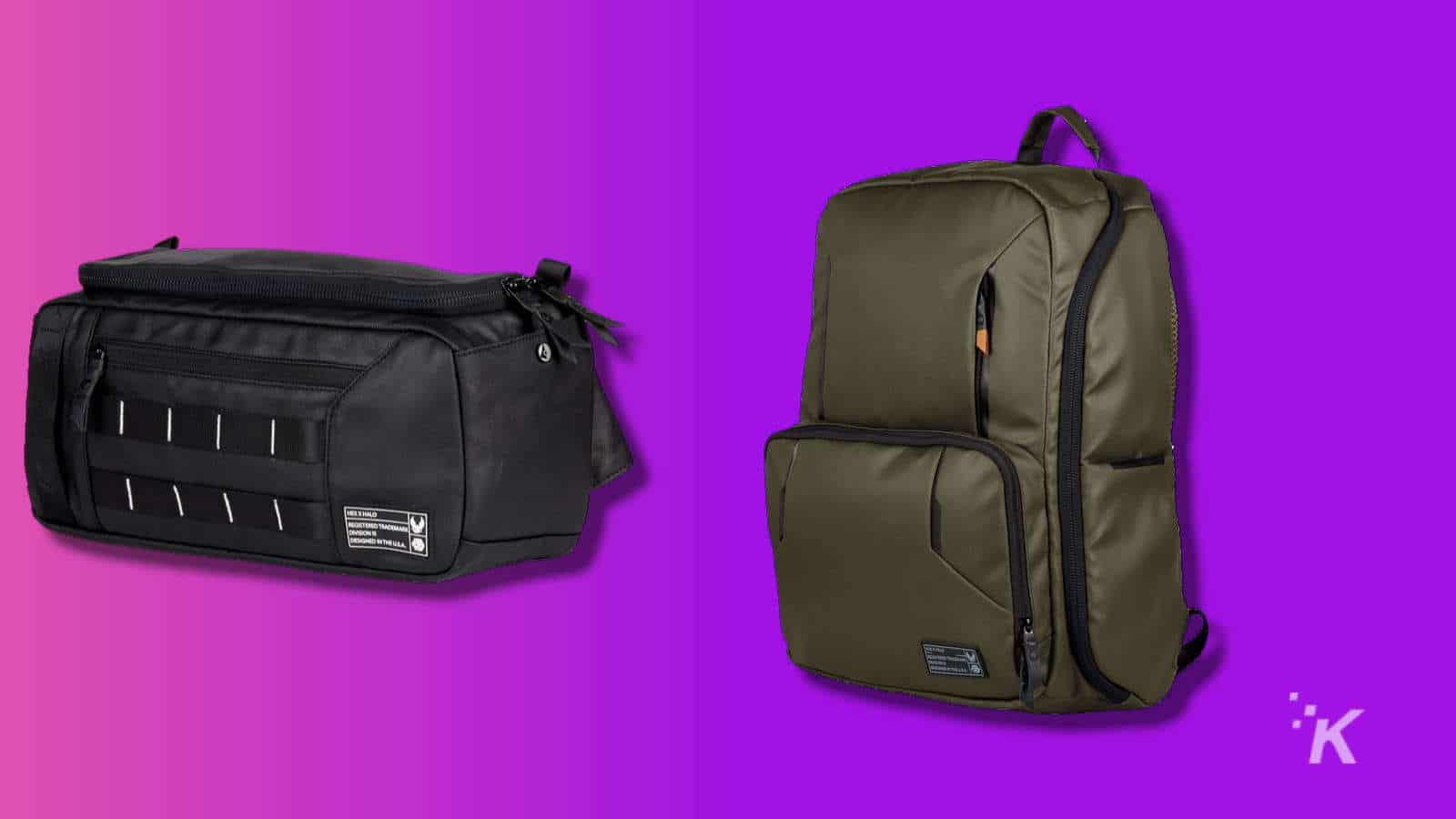 hexbrand halo camera bags