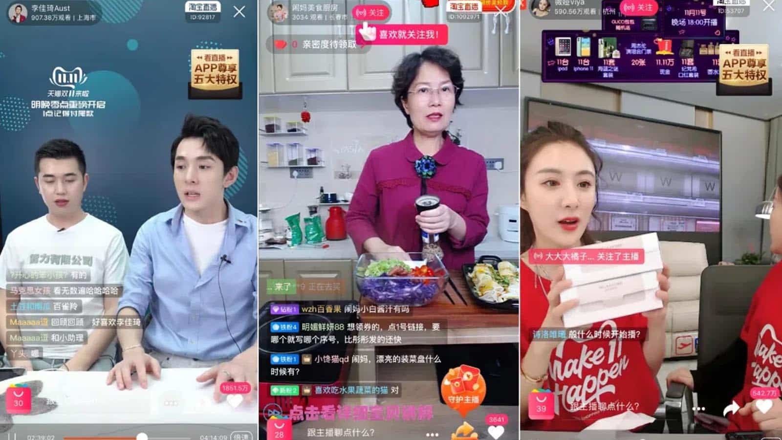 livestreaming in china