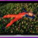 macbook air on purple background