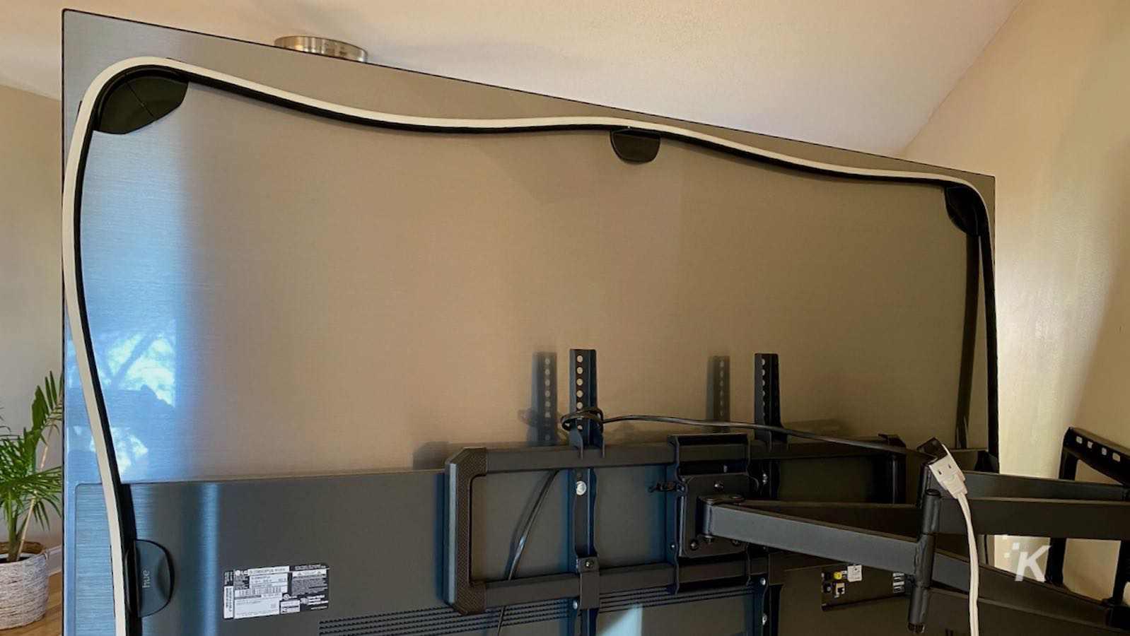 philips hue gradient lightstrip installation