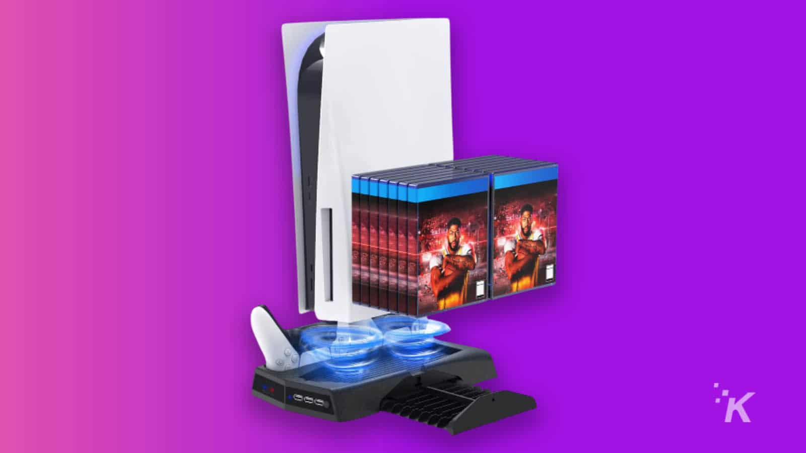 ps5 stand and controller charger