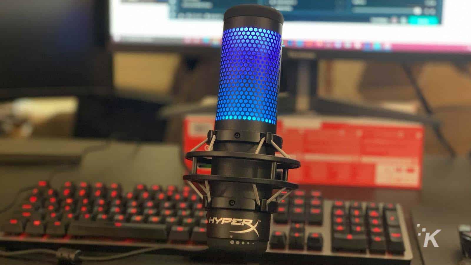 hyperx mic with rgb