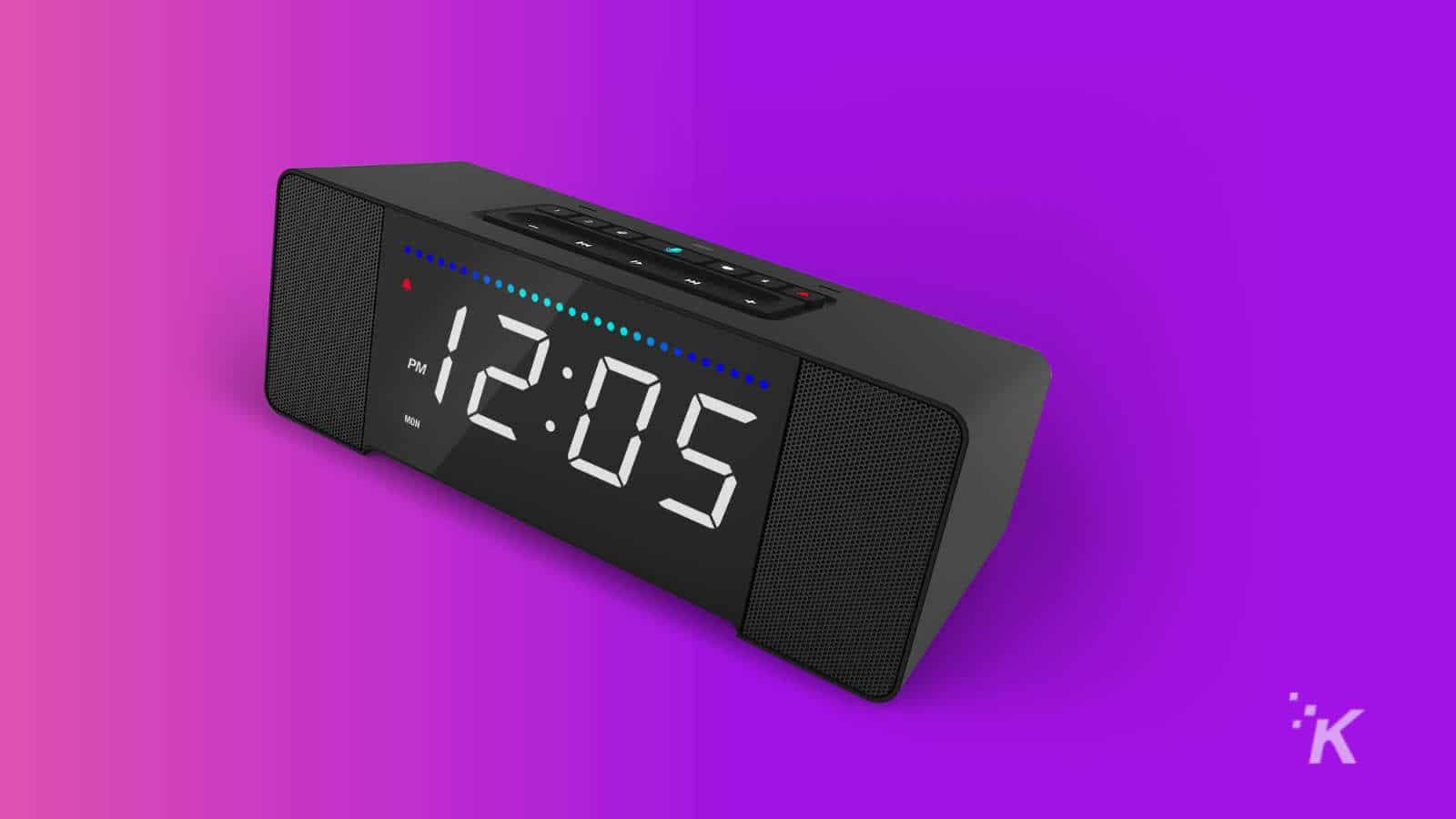 sandman doppler smart clock