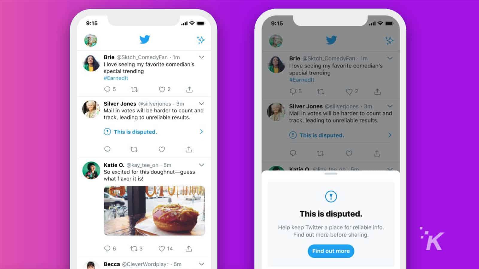 twitter misinformation warnings