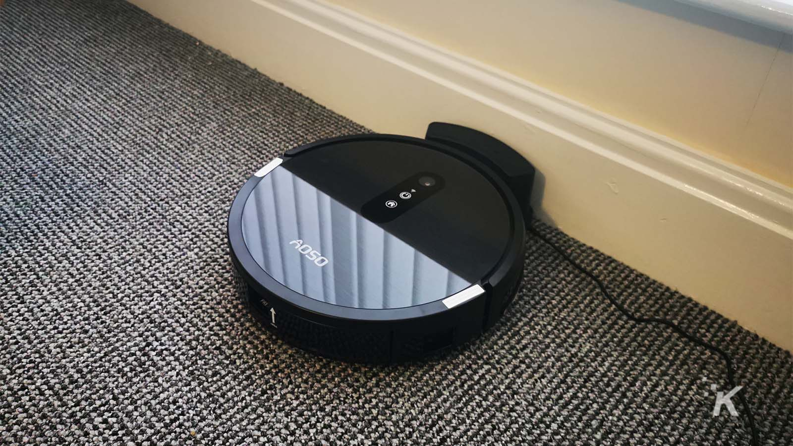Shiny AOSO S3 robot vacuum