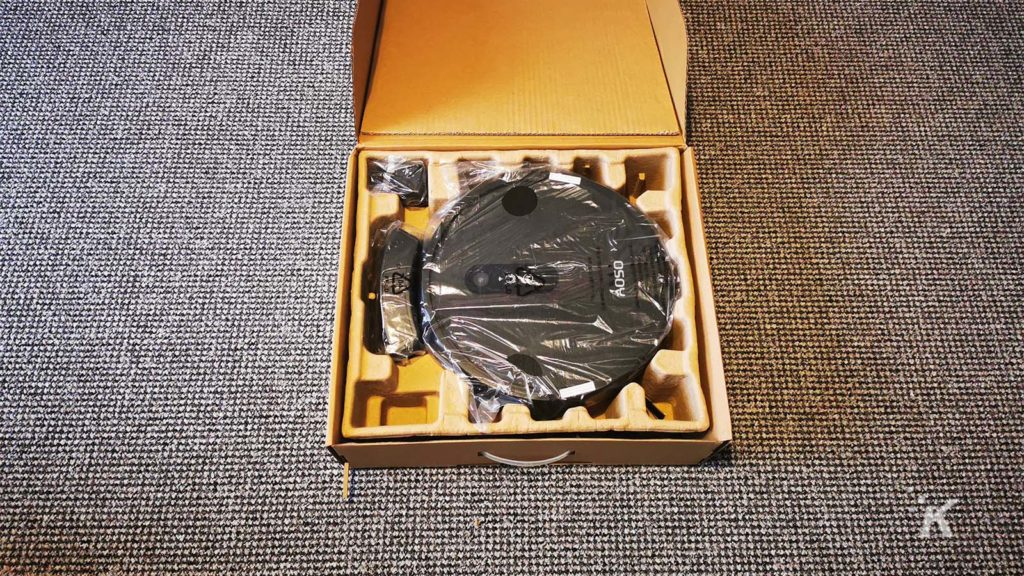 AOSO S3 inside the box