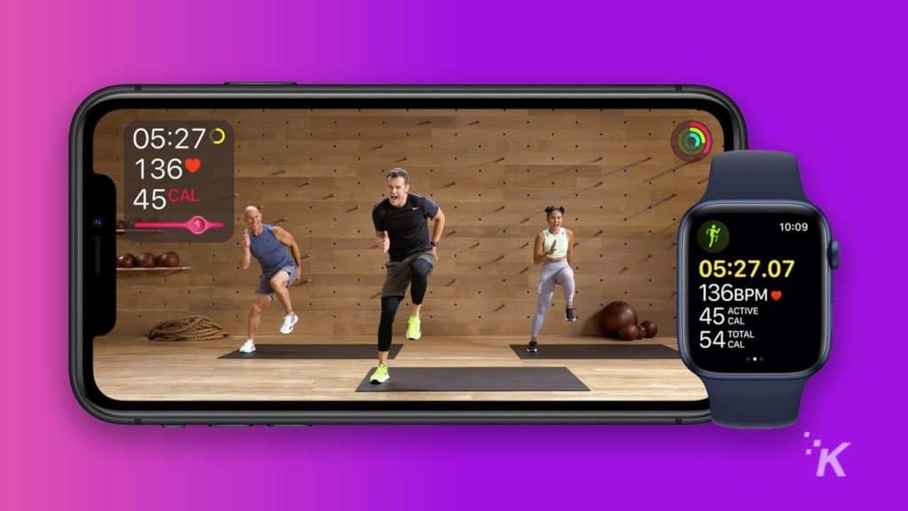 apple fitness+ app