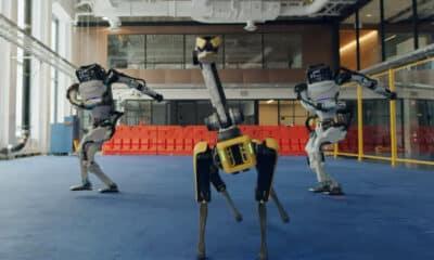 boston dynamics robots dancing