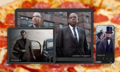 epix now streaming service with pizza