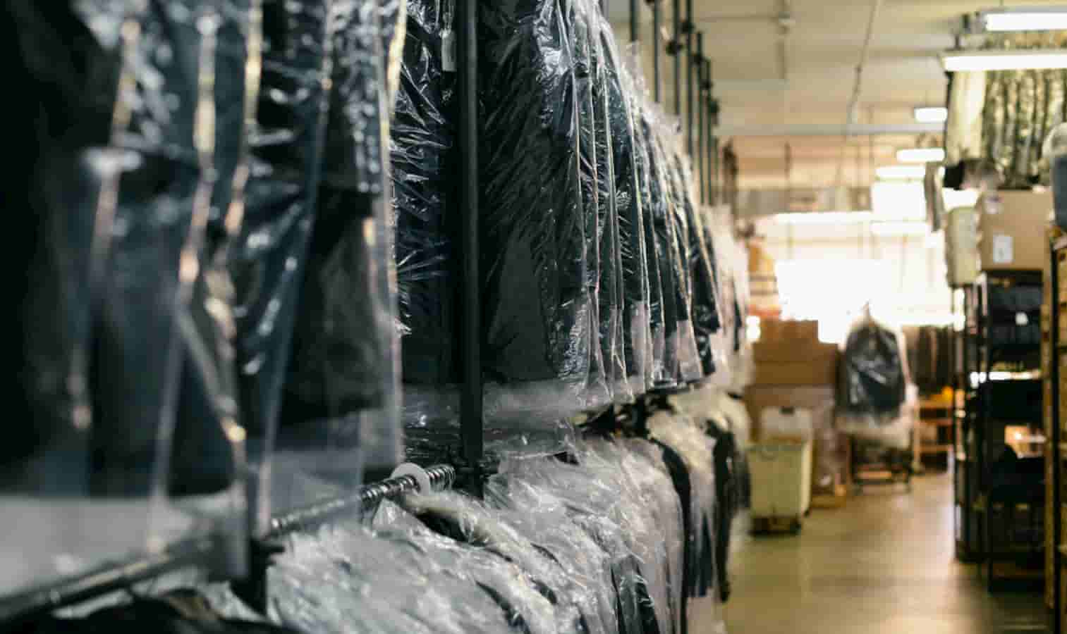 dry cleaner clothes