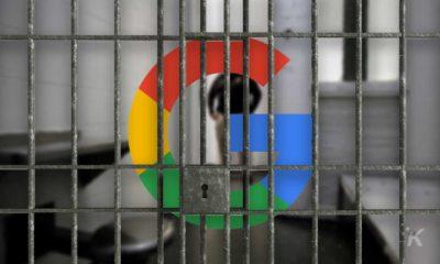 google lawsuit behind bars