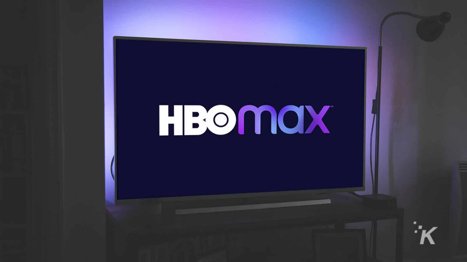 hbo max on flat-screen tv
