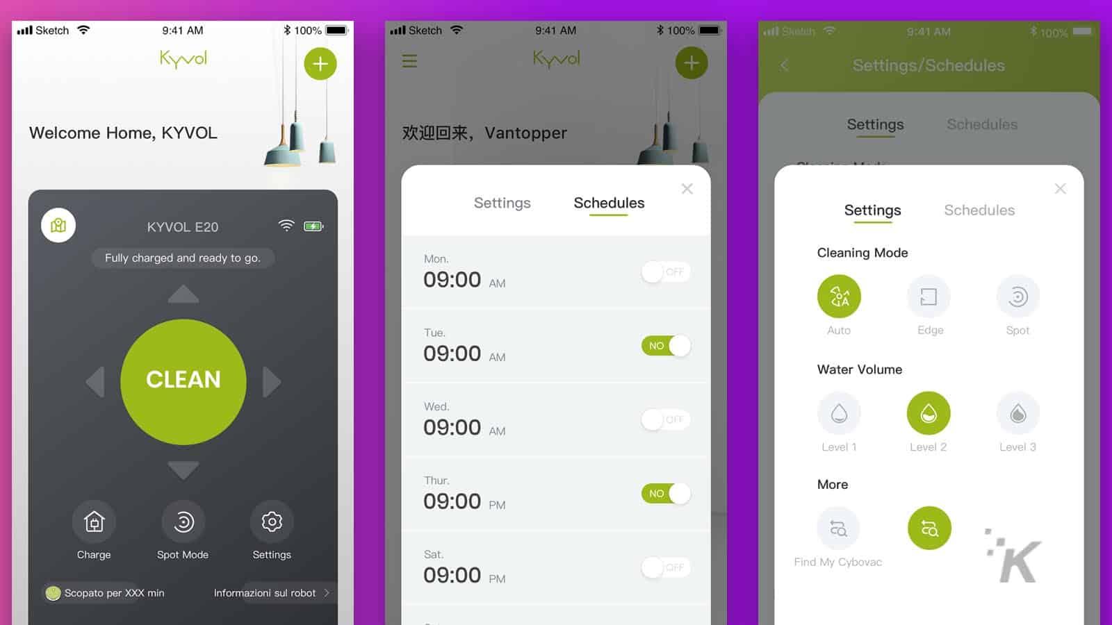 kyvol app for robovac